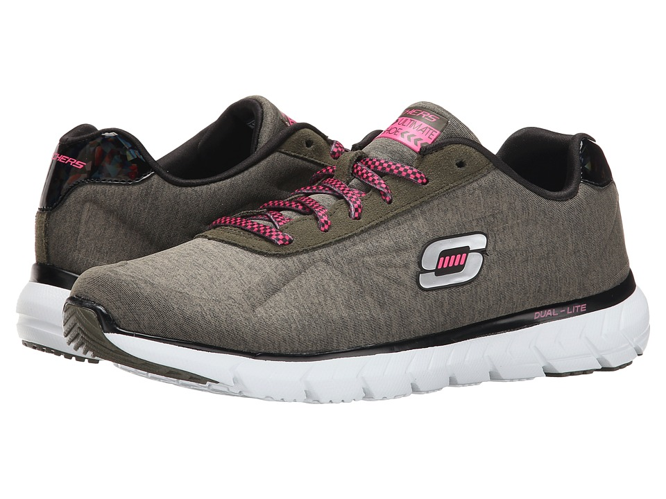 SKECHERS - Soleus - The Truth (Olive) Women's Shoes