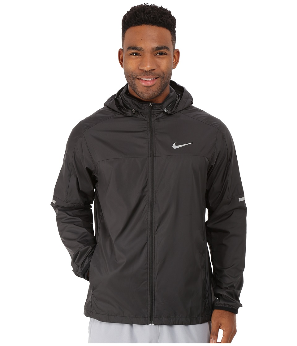 Nike - Vapor Jacket (Black/Black/Reflective Silver) Men's Coat