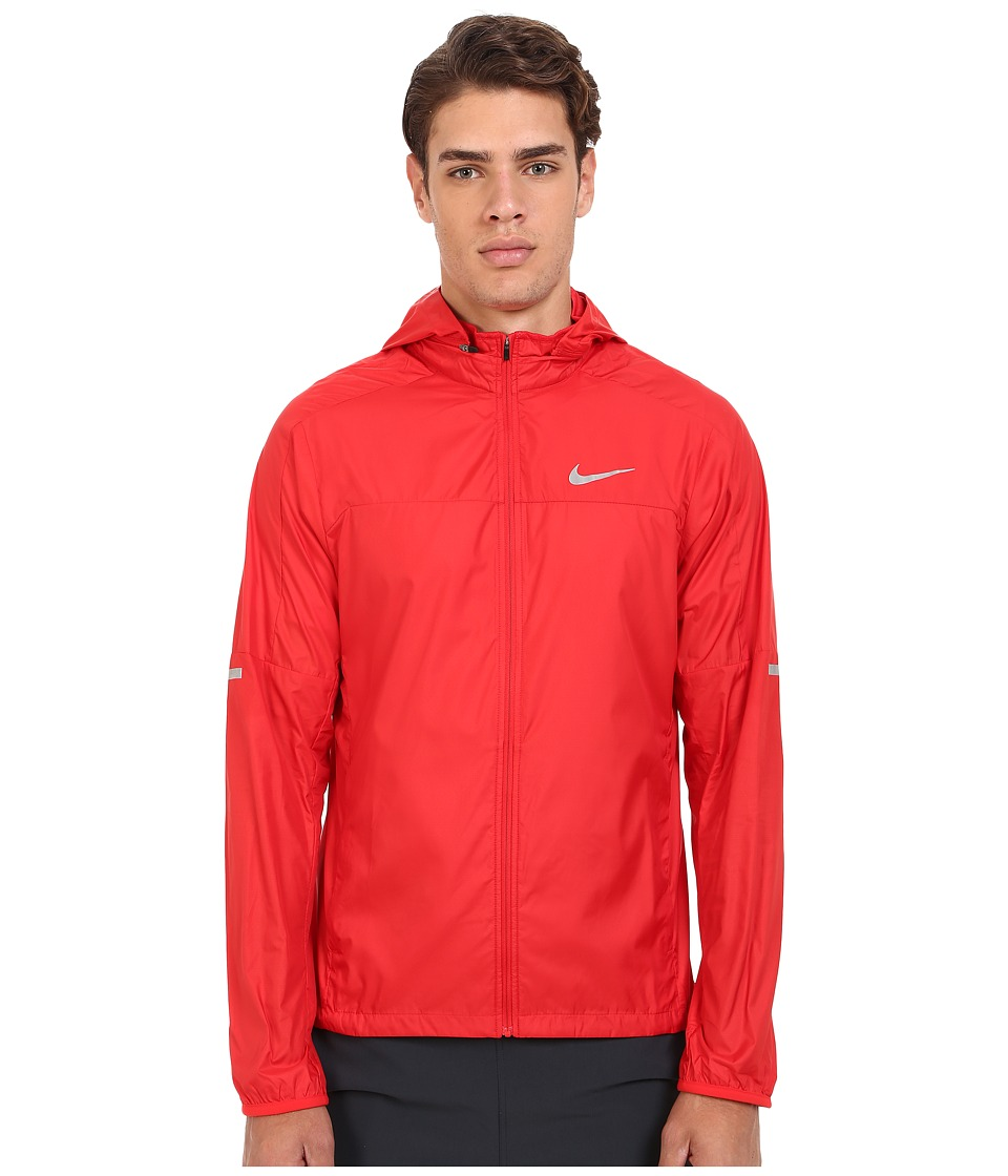 Nike - Vapor Jacket (University Red/Reflective Silver) Men's Coat