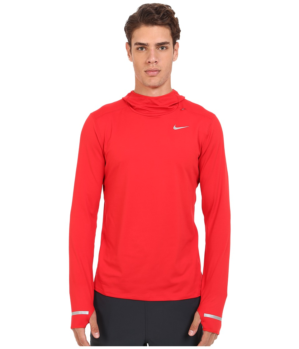 Nike - Dri-Fit Element Hoodie (University Red/Reflective Silver) Men's Sweatshirt