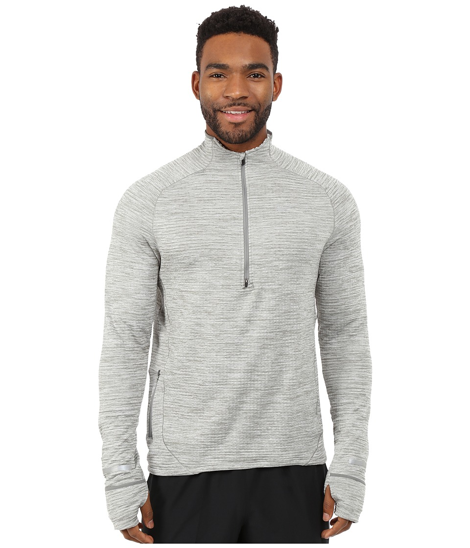 Nike - Element Sphere Half-Zip (Tumbled Grey/Reflective Silver) Men's Long Sleeve Pullover