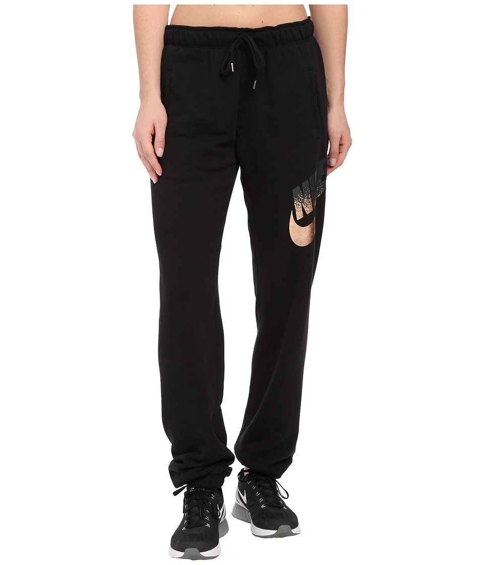 Nike - Rally Pants Loose Metal (Black) Women's Casual Pants