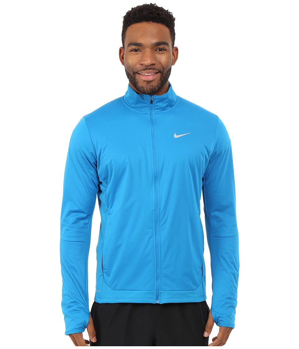 Nike - Shield Full-Zip Jacket (Imperial Blue/Reflective Silver) Men's Coat