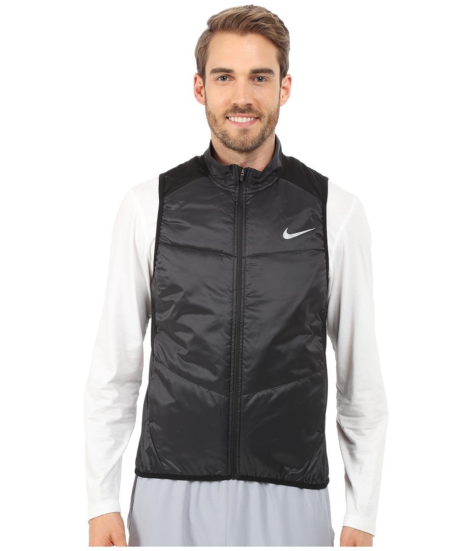 Nike - Polyfill Vest (Black/Reflective Silver) Men's Vest