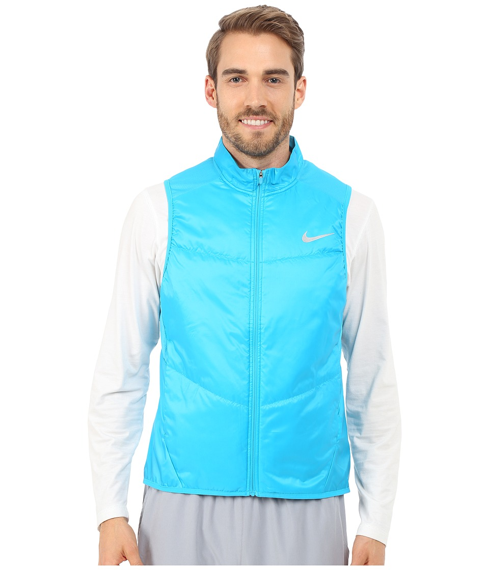 Nike - Polyfill Vest (Blue Lagoon/Reflective Silver) Men