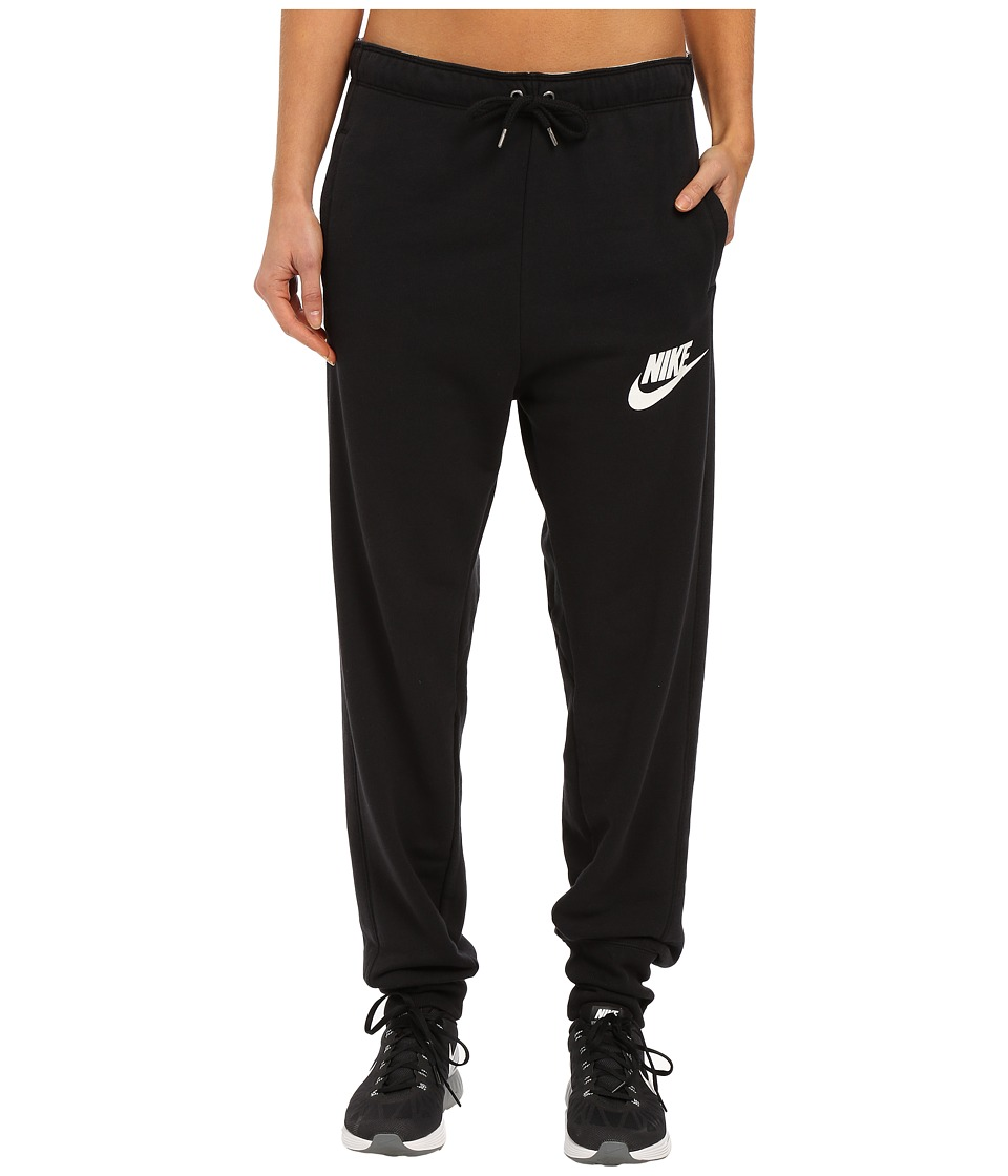 Nike - Rally Jogger Sweatpant (Black/Black/Summit White) Women's Casual Pants