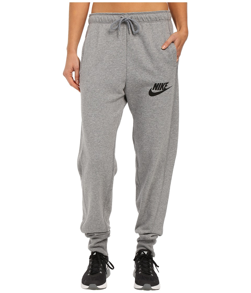 Nike - Rally Jogger Sweatpant (Carbon Heather/Cool Grey/Black) Women's Casual Pants