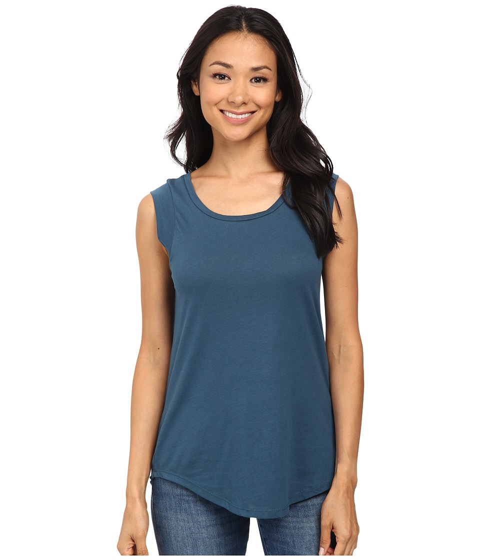 Alternative - Cap Sleeve Crew (Mineral Blue) Women's T Shirt