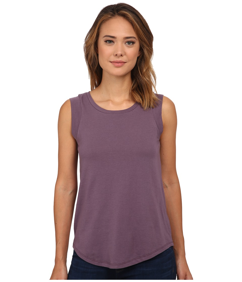 Alternative - Cap Sleeve Crew (Purple Haze) Women's T Shirt