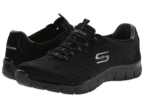 SKECHERS - Empire - Rock Around (Black) Women's Shoes