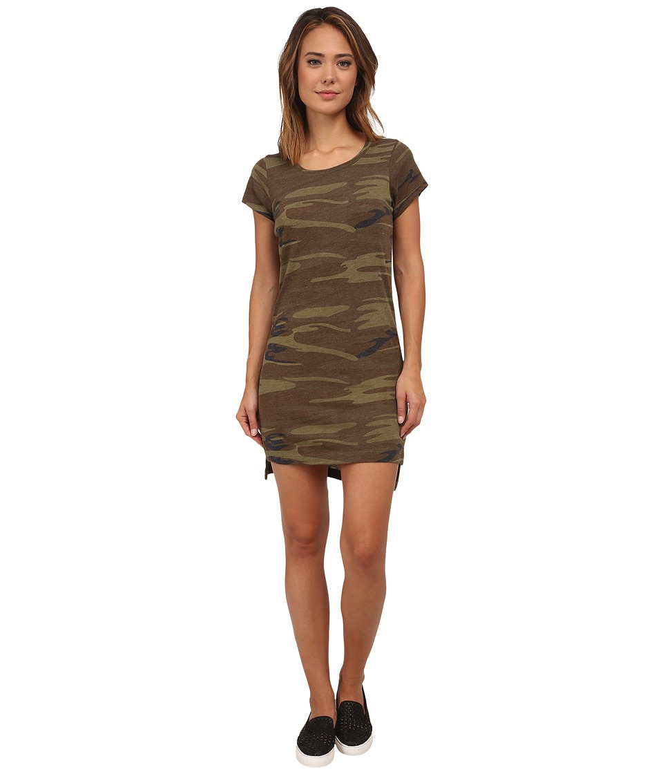 Alternative - Eco Jersey T-Shirt Dress (Camo) Women's Dress