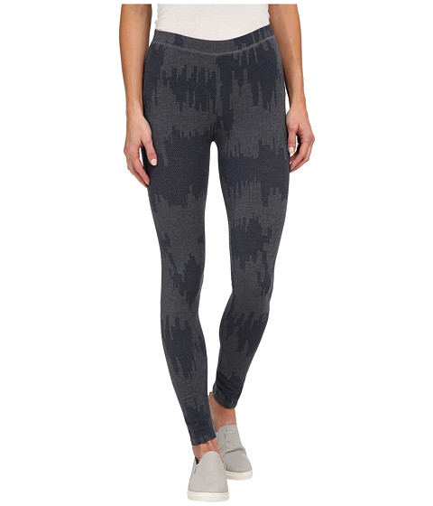 Alternative - Printed Skinny Legging (Midnight Patchwork) Women's Casual Pants