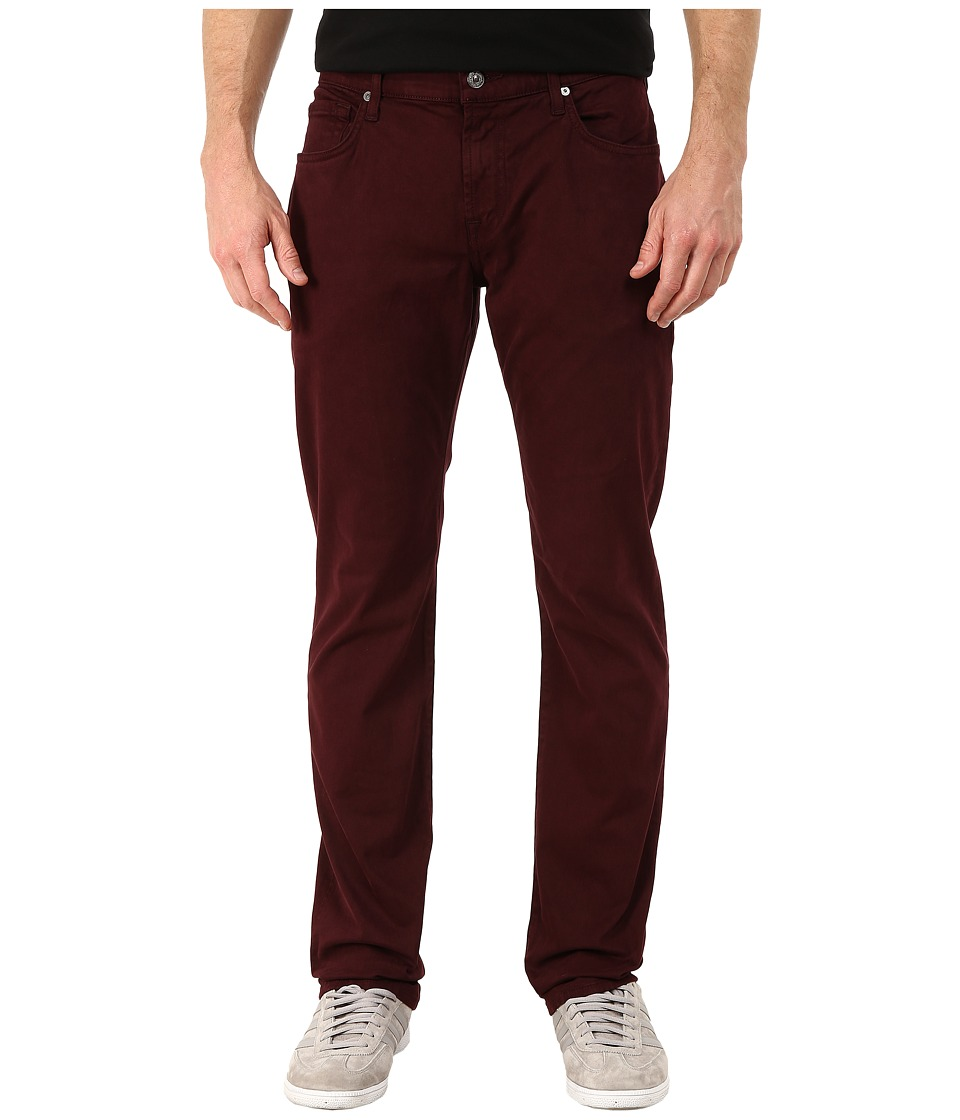 7 For All Mankind - The Straight in Crimson (Crimson) Men's Jeans