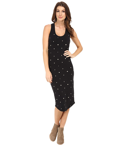 Alternative - Spandex Jersey Mcnally Dress (Black Moonlight) Women