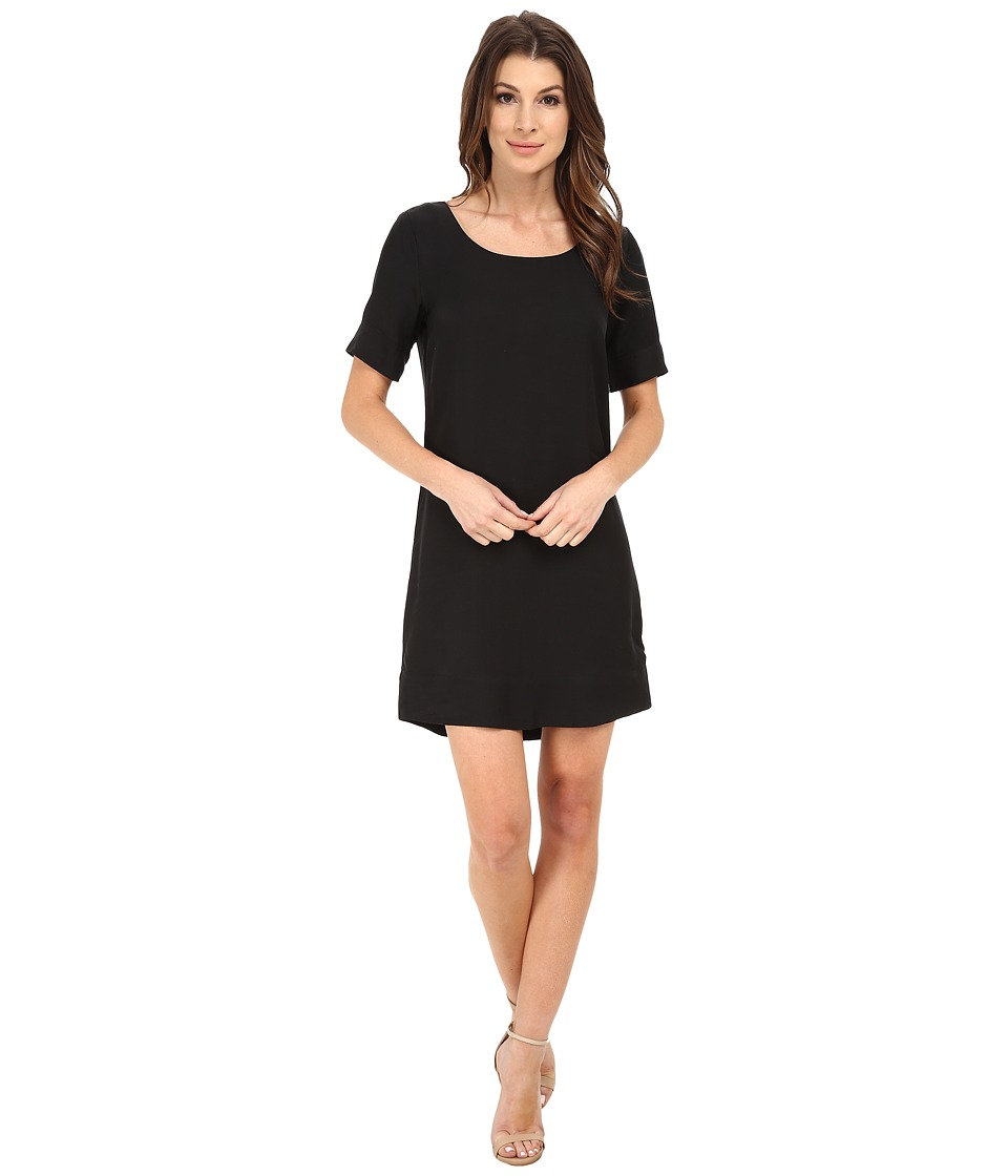 Alternative - Cupro Blend Bon Voyage Dress (Black) Women's Dress