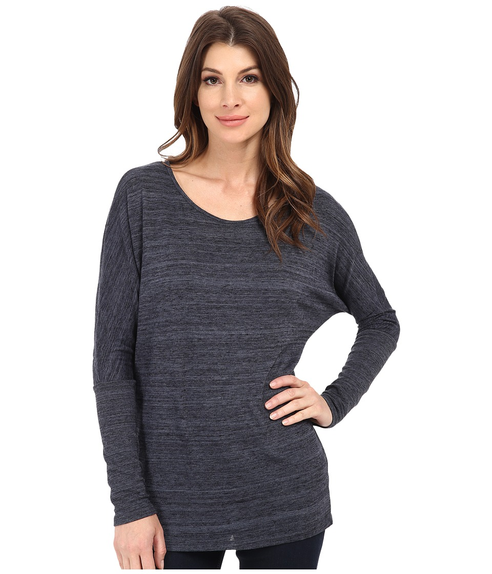 Alternative - Eco Space Dye Jersey Escapist Tunic (Midnight) Women