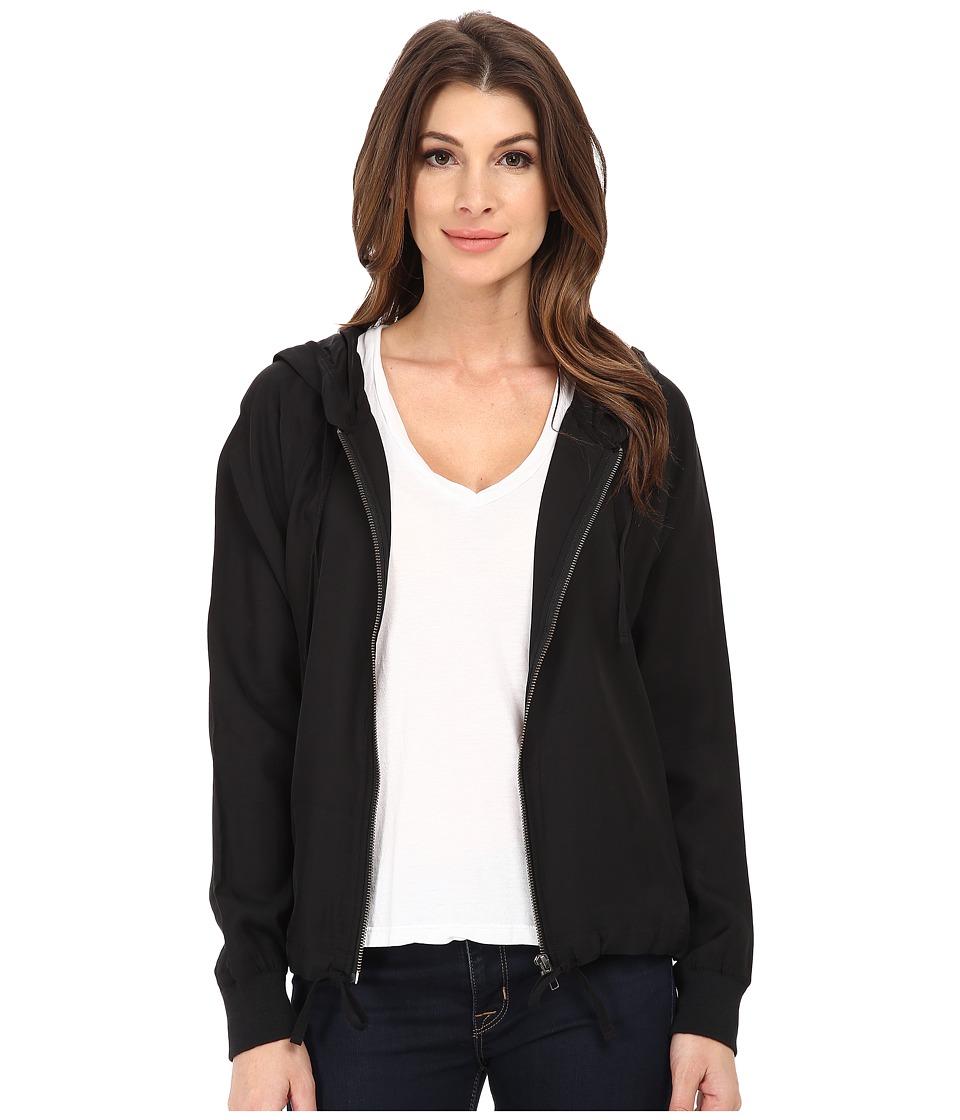 Alternative - Cupro Blend Wayfarer Hoodie (Black) Women's Sweatshirt