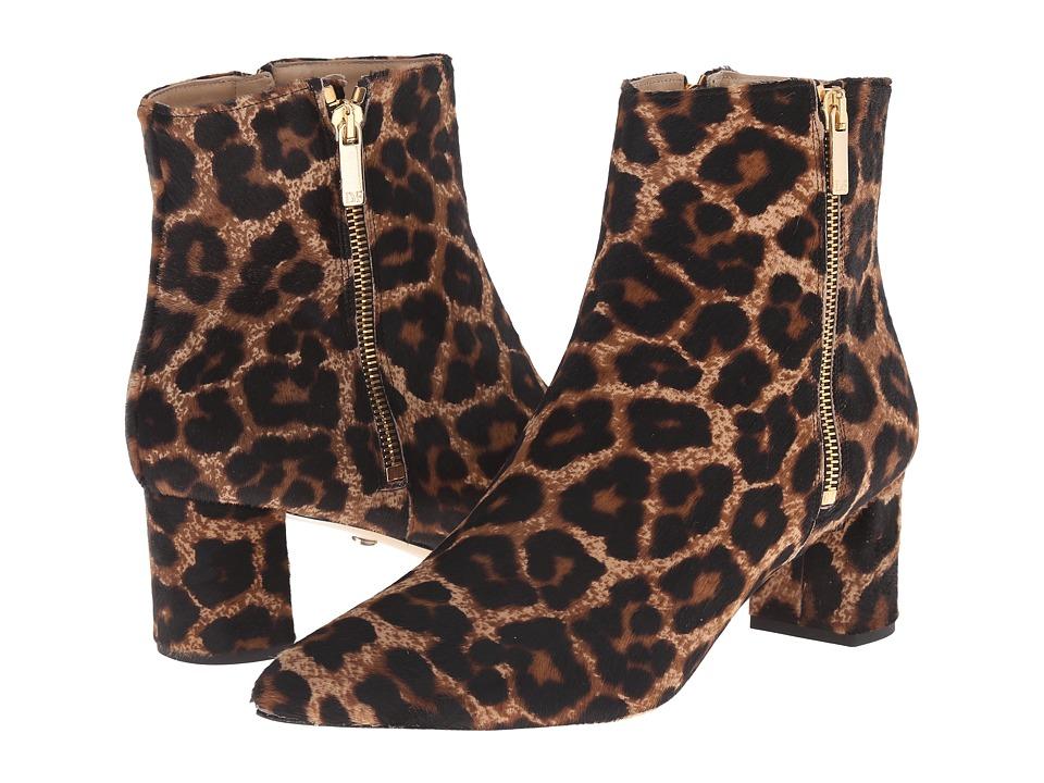 Diane von Furstenberg - Abbot Too (Leopard Printed Haircalf) Women's Shoes