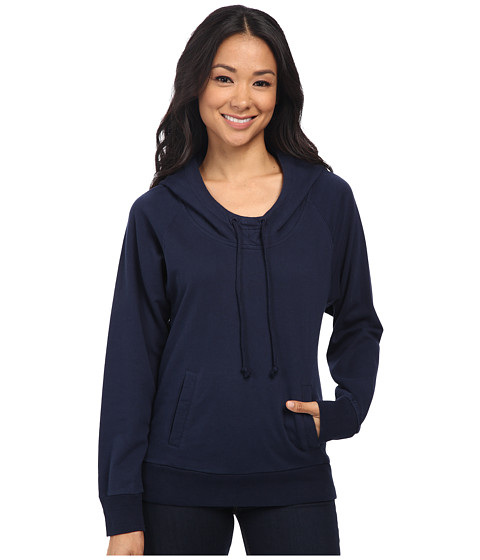 Alternative - Eco Micro Fleece Wanderlust Hoodie (Midnight) Women's Sweatshirt