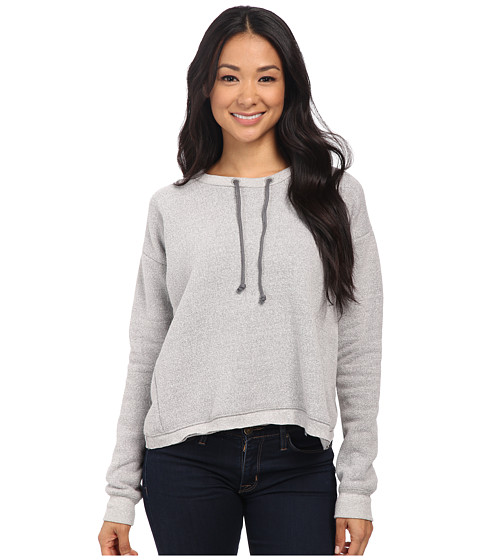 Alternative - Eco Mock Twist Fleece Souvenir Crew Neck (Eco Mock Nickel) Women's Fleece