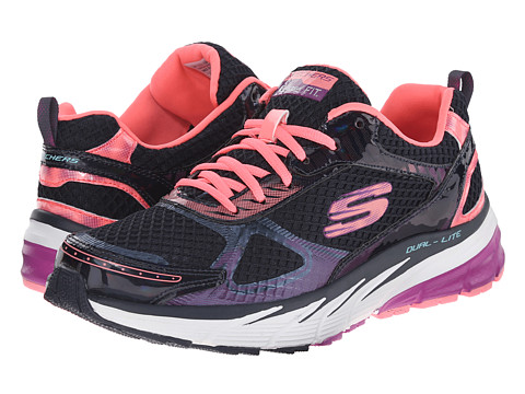 SKECHERS - Optimus - Recharge (Navy Pink) Women