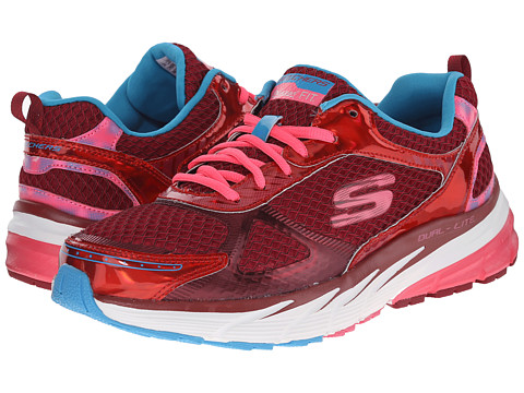 SKECHERS - Optimus - Recharge (Red Multi) Women's Shoes