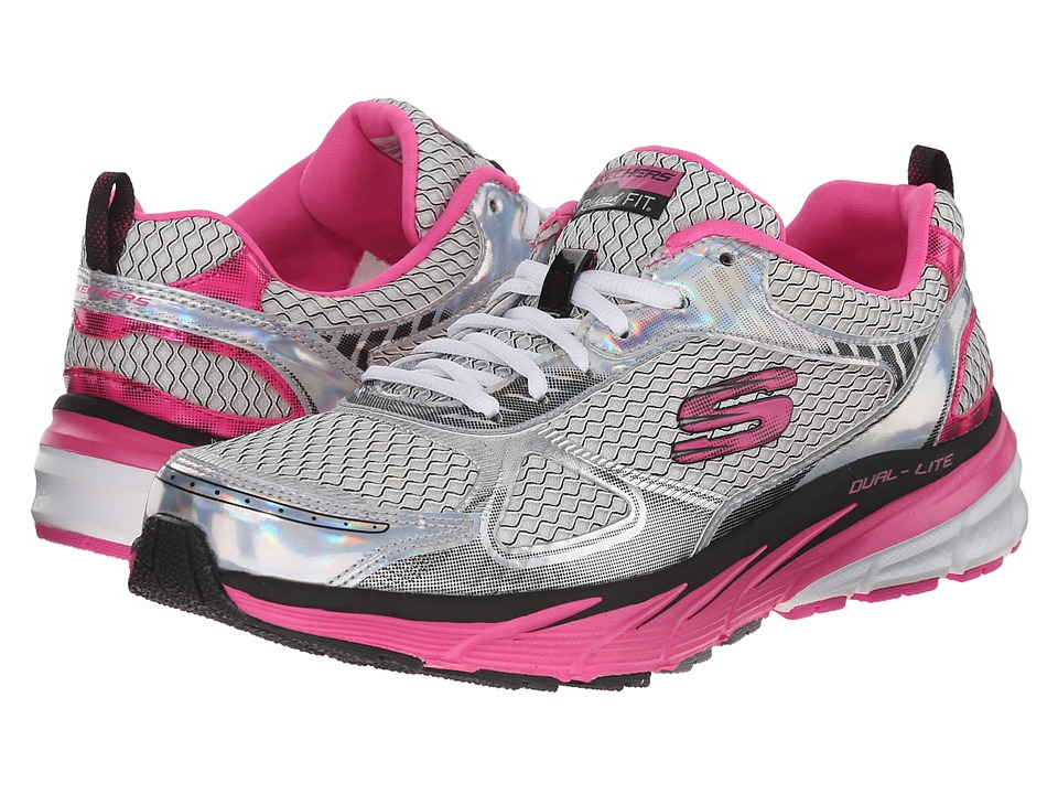 SKECHERS - Optimus - Recharge (White Pink) Women