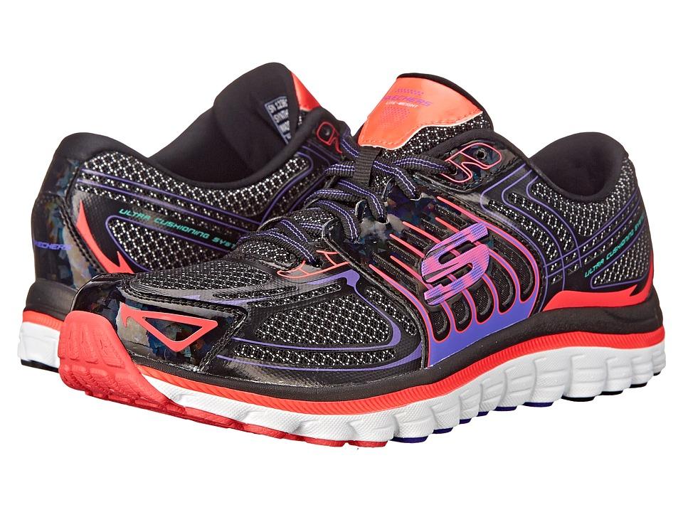 SKECHERS - Ascent (Blue Pink) Women's Shoes