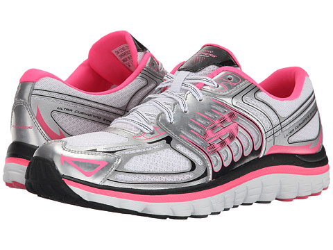 SKECHERS - Ascent (White Pink) Women's Shoes