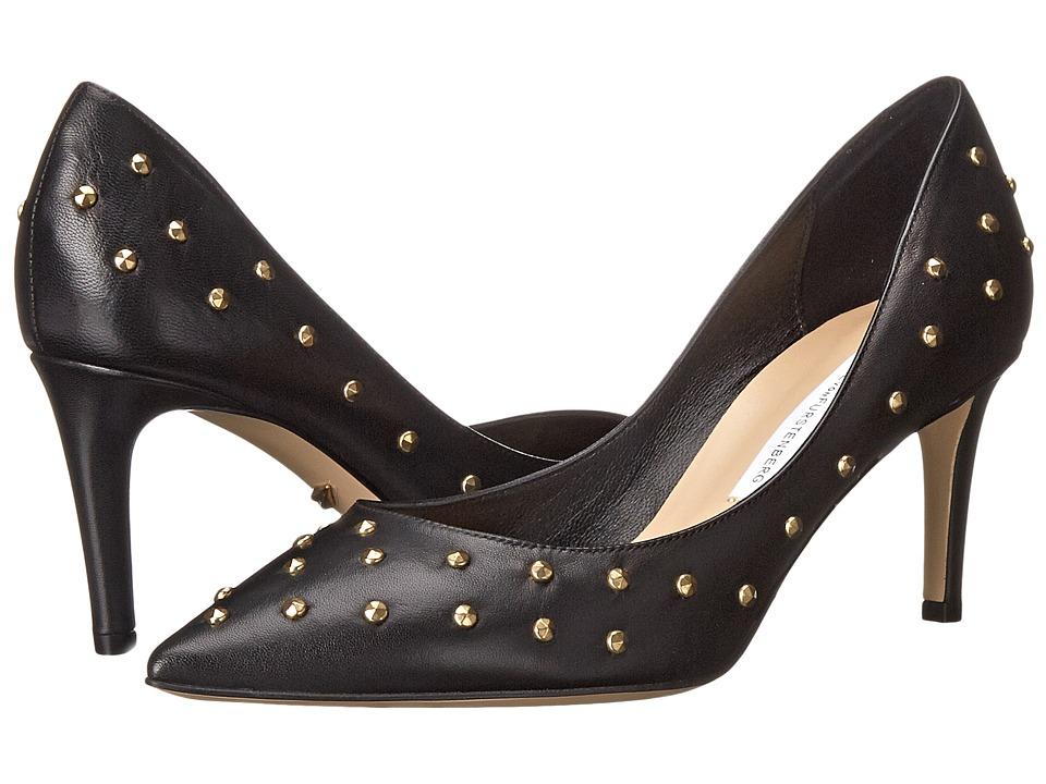Diane von Furstenberg - Harriet (Black Nappa/Studs) High Heels