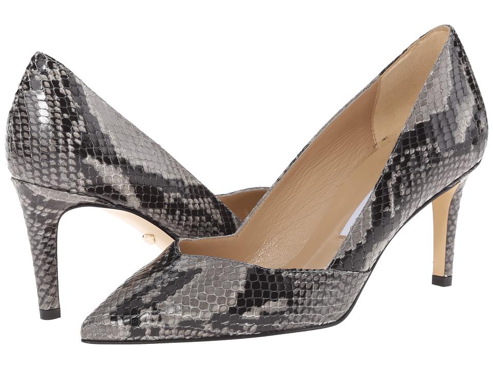 Diane von Furstenberg - Hilda (Grey Embossed Python) Women's Shoes