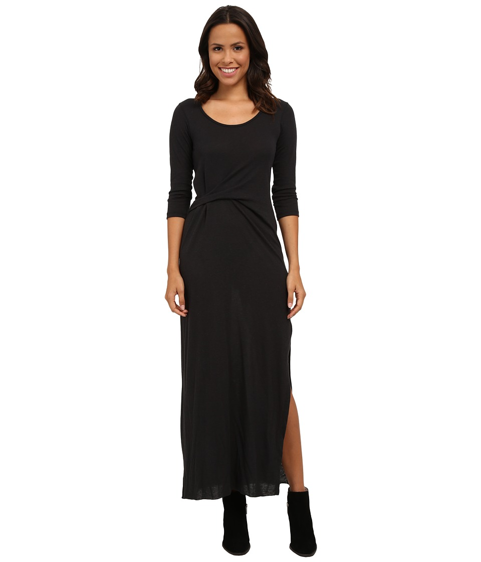 Alternative - Eco Jersey Roadtrip Maxi (Eco True Black) Women's Dress