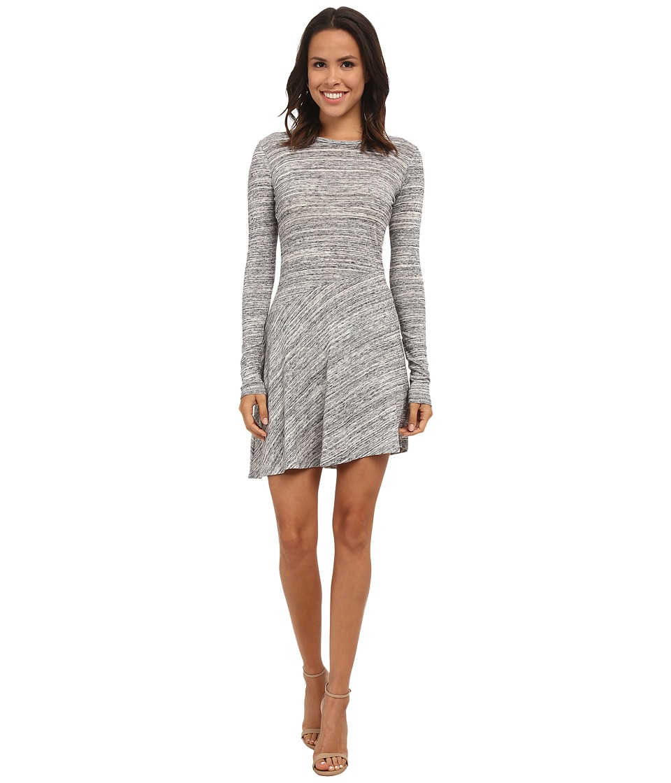 Alternative - Eco Space Dye Jersey Flyaway Dress (Urban Grey) Women's Dress