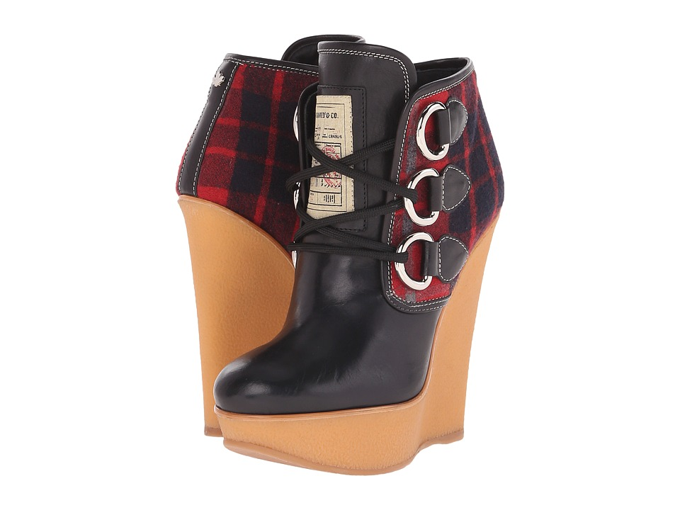 DSQUARED2 - Wedge (Black/Red) Women