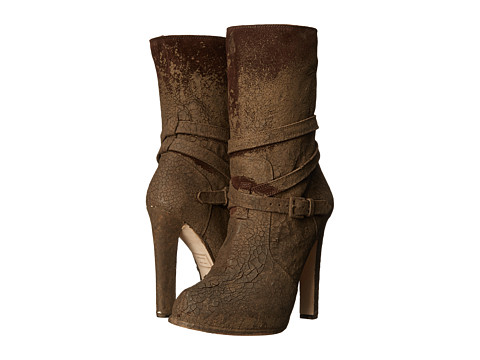 DSQUARED2 - Ankle Boot (Brown) Women's Zip Boots