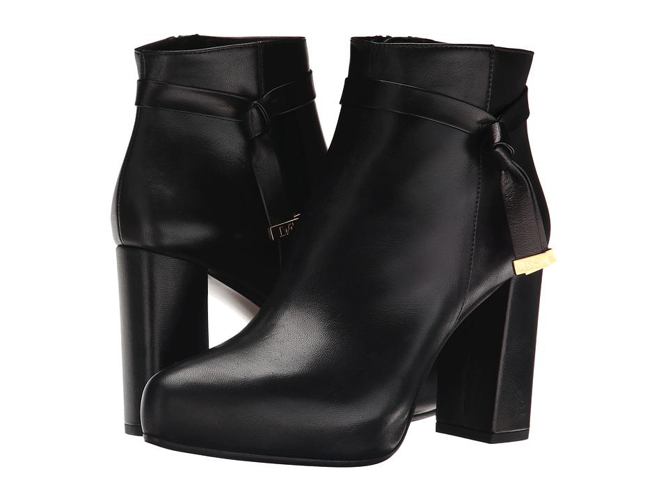Diane von Furstenberg - Pamela (Black Nappa) Women's Shoes
