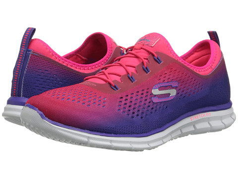 SKECHERS - Glider - Fearless (Purple Pink) Women's Shoes