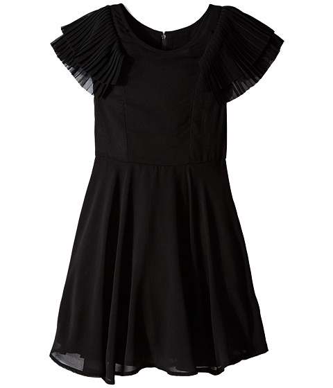 Ella Moss Girl - Brianna Dress (Big Kids) (Black) Girl