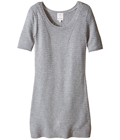 Ella Moss Girl - Blair Sweater Dress (Big Kids) (Grey Heather) Girl's Dress