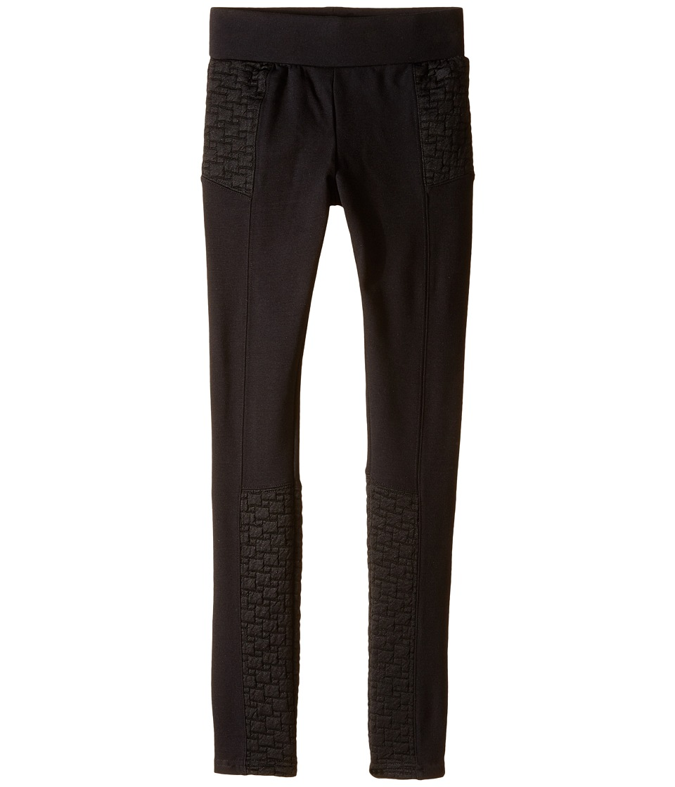 Ella Moss Girl - Valerie Knit Pants (Big Kids) (Black) Girl's Casual Pants
