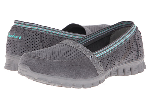 SKECHERS - EZ Flex 2 - Tweetheart (Grey) Women's Shoes