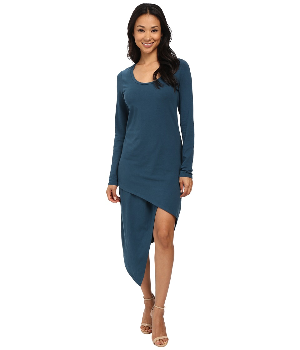 Alternative - Spandex Jersey Mileage Dress (Mineral Blue) Women's Dress