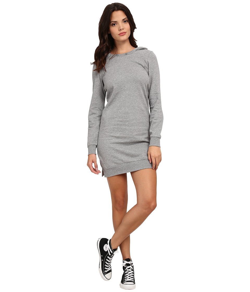 Alternative - Eco Micro Fleece Weekender Dress (Heather Grey) Women's Dress