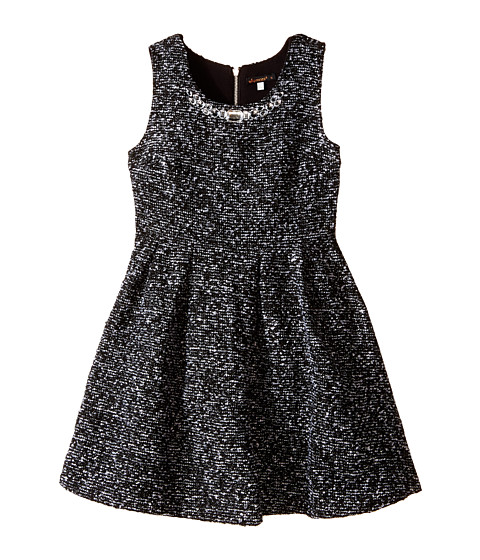 Ella Moss Girl - Lori Dress (Big Kids) (Black) Girl