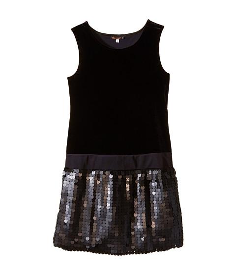 Ella Moss Girl - Chloe Dress (Big Kids) (Black) Girl's Dress