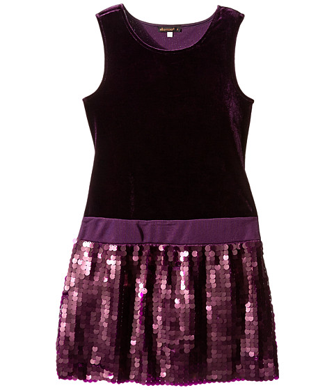 Ella Moss Girl - Chloe Dress (Big Kids) (Plum) Girl's Dress