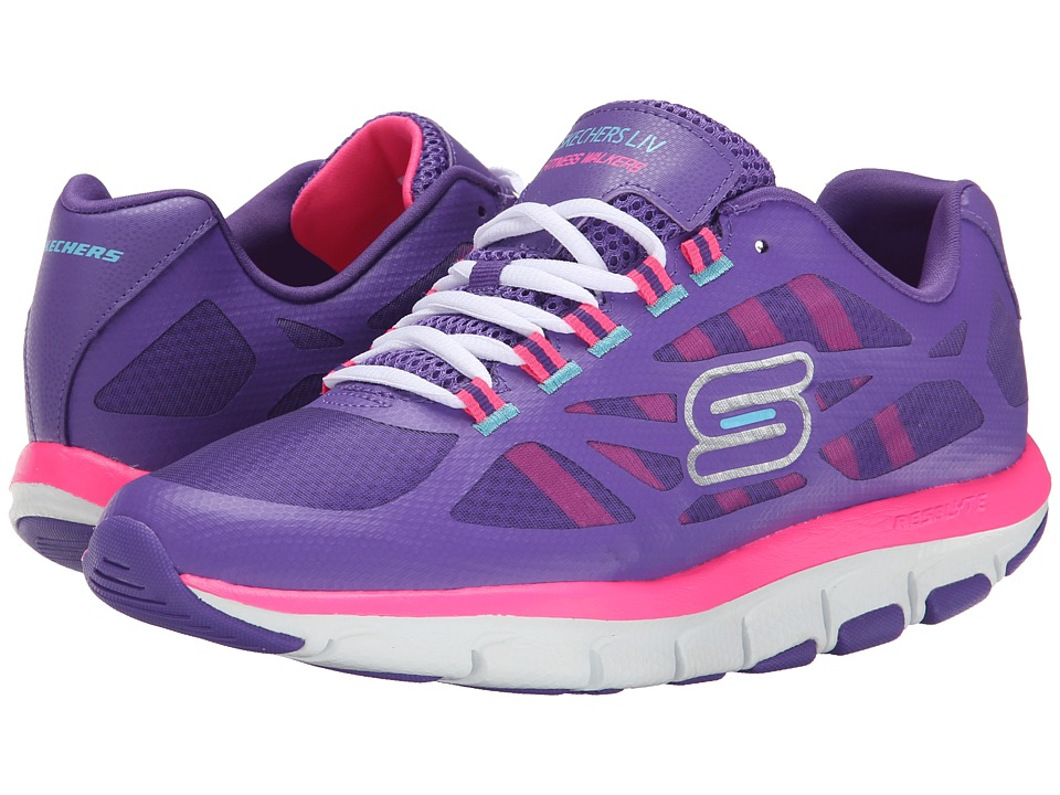 SKECHERS - Liv - Bottom Line (Shape Ups) (Purple Pink) Women's Shoes