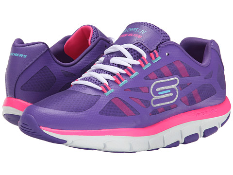 SKECHERS - Liv - Bottom Line (Shape Ups) (Purple Pink) Women