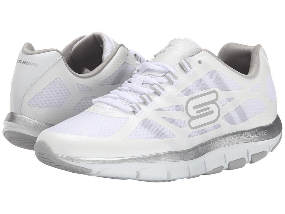 SKECHERS - Liv - Bottom Line (Shape Ups) (White) Women's Shoes