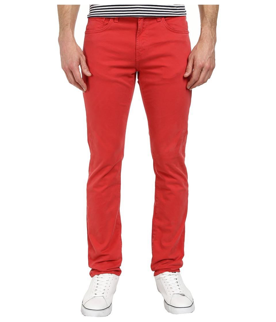 J Brand - Kane Slim Straight Leg in Cape Red (Cape Red) Men